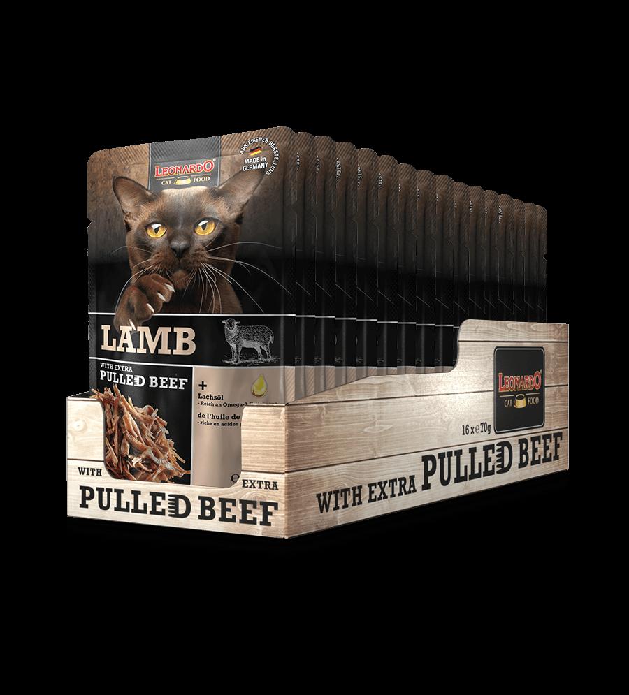 LEONARDO® Lamb + extra Pulled Beef