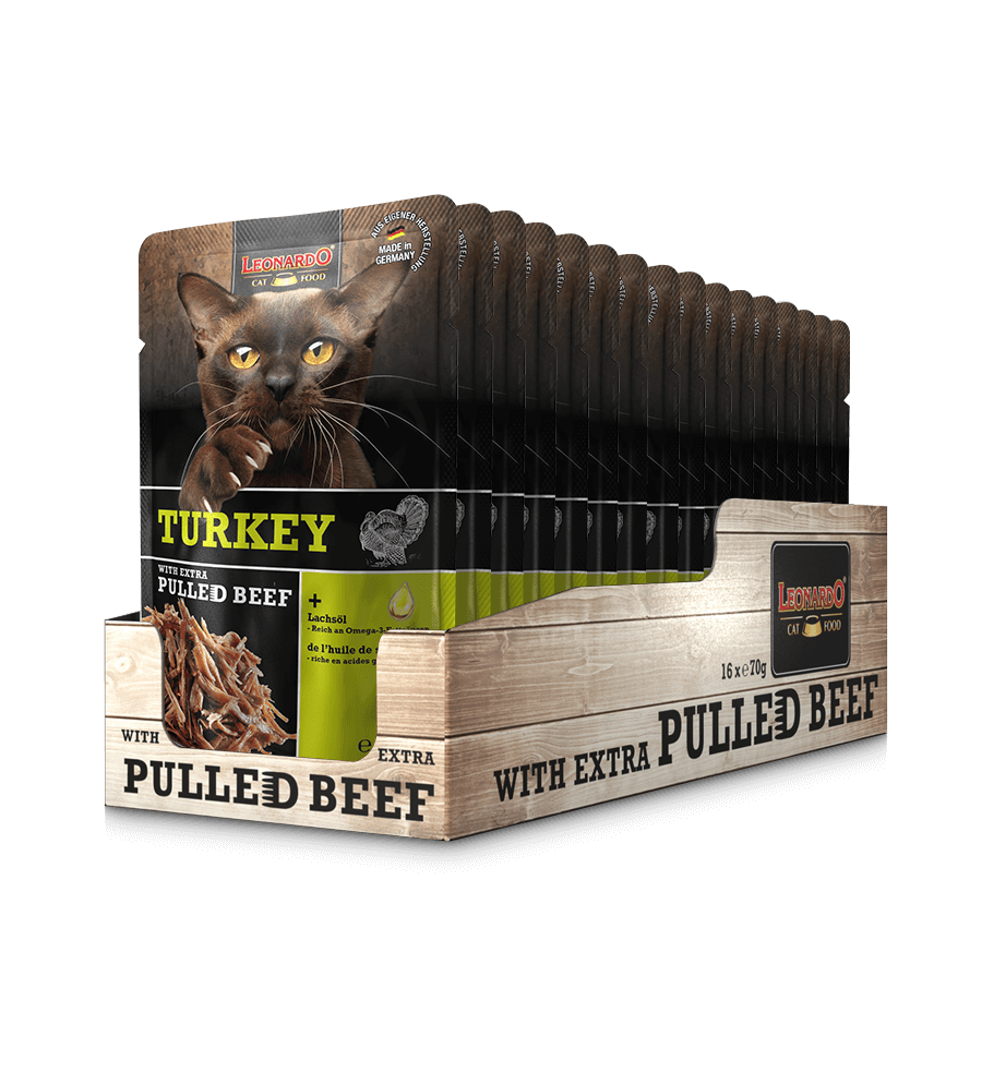 LEONARDO® Turkey + extra Pulled Beef